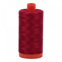 Aurifil Mako 50 wt Cotton Thread - 1422 yds - Red Wine