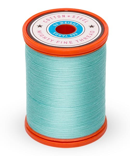 Cotton + Steel 50wt Thread by Sulky - Teal
