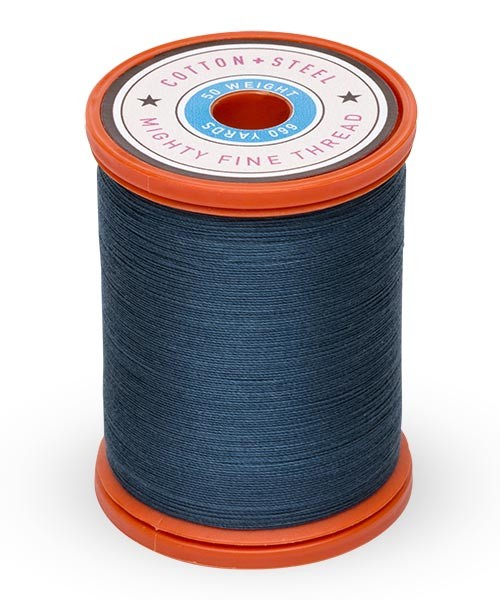 Cotton + Steel 50wt Thread by Sulky - Midnight Teal