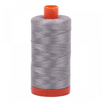 Aurifil Mako 50 wt Cotton Thread - 1422 yds - Stainless Steel (2620)