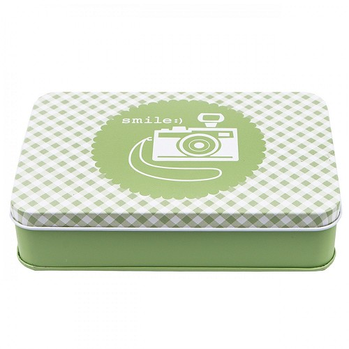 Bee in My Bonnet Sewing Tin - GREEN