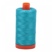 Aurifil Mako 50 wt Cotton Thread - 1422 yds - Turquoise (2810)