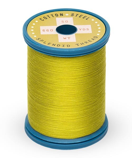 Cotton + Steel 50wt Thread by Sulky - Pea Soup