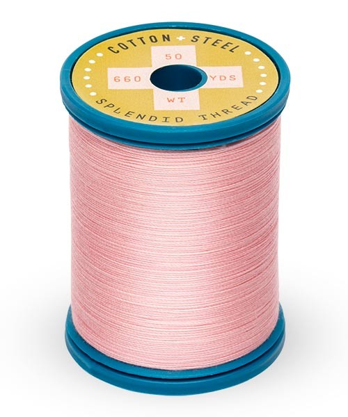 Cotton + Steel 50wt Thread by Sulky - Light Pink