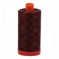 Aurifil Mako 50 wt Cotton Thread - 1422 yds - Chocolate (2360)
