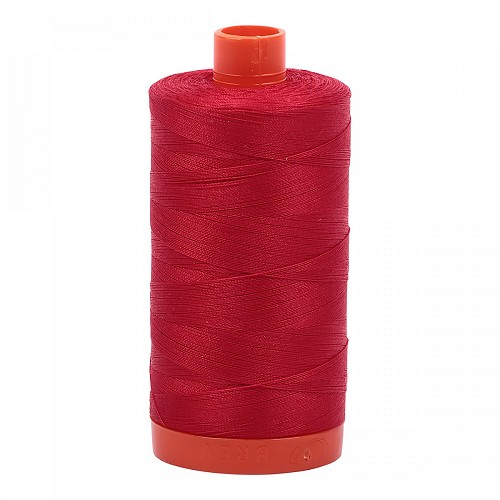 Aurifil Mako 50 wt Cotton Thread - 1422 yds - Red