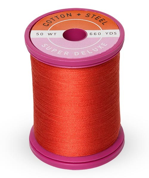 Cotton + Steel 50wt Thread by Sulky - Poppy