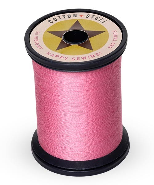 Cotton + Steel 50wt Thread by Sulky - Sweet Pink