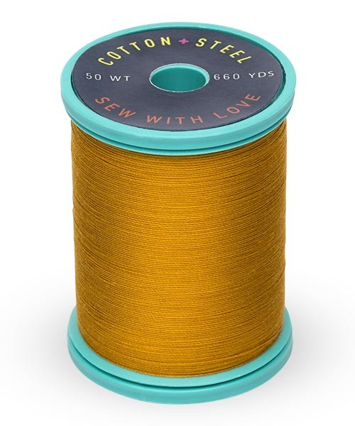 Cotton + Steel 50wt Thread by Sulky - Galley Gold
