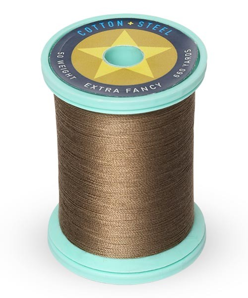 Cotton + Steel 50wt Thread by Sulky - Truffle Taupe
