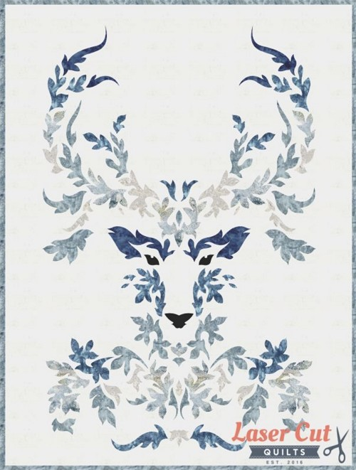 "The Stag Quilt Kit (Winter) - 30"" x 40"""