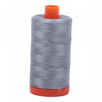 Aurifil Mako 50 wt Cotton Thread - 1422 yds - Light Blue Grey (2610)