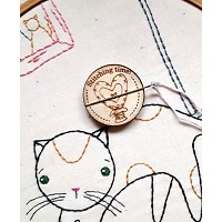 Heart Magnetic Needle Minder - Designed by Selina Hudson